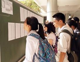 Hơn 5.000 thí sinh thi môn đầu tiên vào lớp 10 Chuyên ĐH Sư Phạm Hà Nội