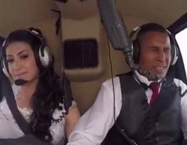 Chấn động clip rơi máy bay khiến cô dâu qua đời trên đường đến đám cưới