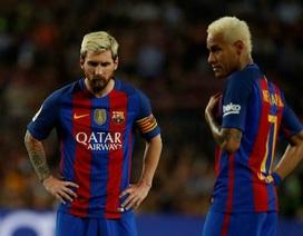 Cổ động viên tố Messi chế giễu Neymar trên mạng xã hội