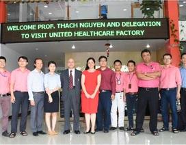 CEO USM Healthcare ấp ủ nhiều kế hoạch hợp tác với khoa Y Tân Tạo