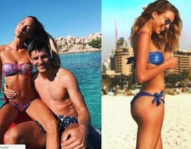 """Ngắm bà xã xinh đẹp của """"bom tấn"""" Alvaro Morata"""