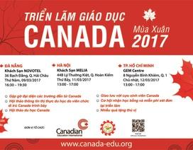 Triển lãm giáo dục Canada mùa Xuân 2017