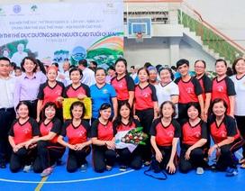 Hơn 4.000 người cao tuổi TP.HCM tham gia hội thi thể dục dưỡng sinh