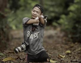 """Nhiếp ảnh gia không tay không chân chụp những bức ảnh """"vạn người mê"""""""