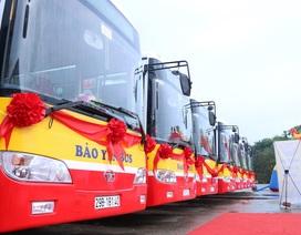 Hà Nội: Chính thức đưa xe buýt đạt tiêu chuẩn Euro 4 đi vào hoạt động thay thế xe buýt cũ