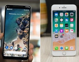 Đọ cấu hình Pixel 2 và Pixel 2 XL với bộ đôi iPhone 8 của Apple