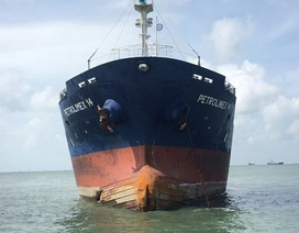 Vitaco: Sự cố va chạm tàu Petrolimex 14 không ảnh hưởng nhiều đến công ty