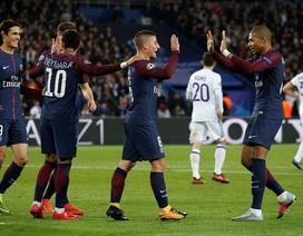Hậu vệ lập hat-trick, PSG giành vé đi tiếp sớm hai vòng đấu