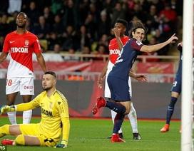 Cavani, Neymar tỏa sáng, PSG hạ gục ĐKVĐ Monaco
