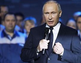 Tổng thống Putin tuyên bố tái tranh cử nhiệm kỳ 4