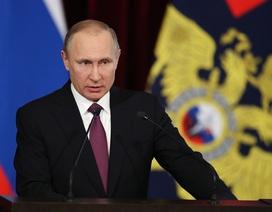 Tổng thống Putin bất ngờ sa thải 10 tướng lĩnh
