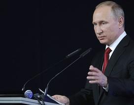 """Ông Putin """"tố"""" tình báo nước ngoài hỗ trợ khủng bố chống lại Nga"""
