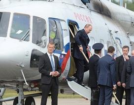 Chuyến bay của Tổng thống Putin bị lộ sạch thông tin