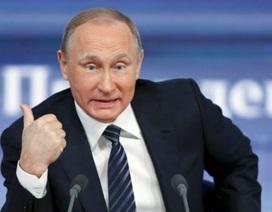 """Tổng thống Hàn Quốc khen ông Putin có tinh thần """"mãnh hổ"""""""