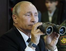 Ông Putin đích thân tham gia tập trận tên lửa
