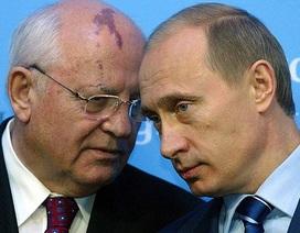 Ông Gorbachev nói gì về quyết định tái tranh cử của Tổng thống Putin?