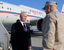 """Phi công Su-30 sẵn sàng """"hứng"""" tên lửa bảo vệ chuyên cơ của ông Putin"""