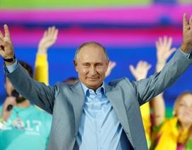 Tổng thống Putin trổ tài nói tiếng Anh