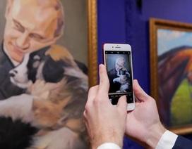 Những khoảnh khắc ấn tượng của Tổng thống Putin trong triển lãm
