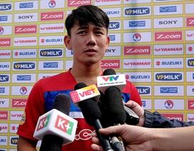 """Tiền vệ Minh Vương: """"Cầu thủ HA Gia Lai rất hợp với lối chơi của HLV Park Hang Seo"""""""