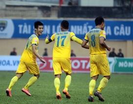 Đánh bại Long An, Thanh Hoá toàn thắng cả 3 trận tại V-League
