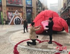 Cầu hôn bạn gái bằng... tảng thiên thạch nặng 33 tấn