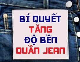 (Infographic) - Làm gì để đồ jean lâu bị phai màu?