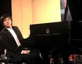 Tài năng piano trẻ  Lưu Hồng Quang biểu diễn trong đêm nhạc cổ điển