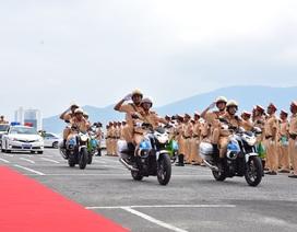1.000 CSGT ra quân phục vụ Tuần lễ Cấp cao APEC