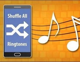 Thủ thuật tự động thay đổi nhạc chuông cuộc gọi hay tin nhắn đến trên smartphone