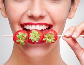 Vì sao ăn thực phẩm này lại giúp răng sáng bóng?