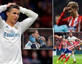 Phung phí nhiều cơ hội, Atletico và Real Madrid bất phân thắng bại