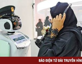 Dubai tuyển dụng 5 robot trở thành nhân viên chính thức