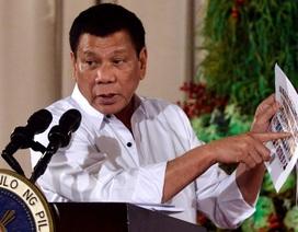 Tổng thống Philippines dọa xử tử các quan chức dính líu ma túy