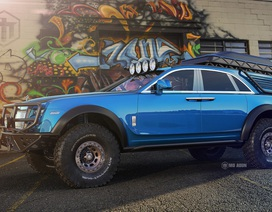 Khi Rolls-Royce Ghost biến thành xe off-road