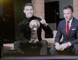 C.Ronaldo lại ẵm thêm giải thưởng trong năm 2017