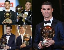C.Ronaldo lần thứ 5 giành Quả bóng vàng: Chiến tích phi thường