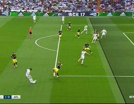Tranh cãi: C.Ronaldo việt vị ở bàn mở tỷ số trước Atletico?