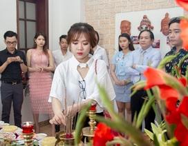 Nghệ sĩ Đà Nẵng dâng hương Tổ nghiệp sân khấu