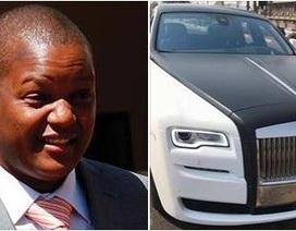 """""""Quý tử"""" nhà Đệ nhất phu nhân Zimbabwe tậu hai siêu xe liên tiếp"""
