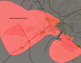 Quân đội Syria thất bại, IS cắt đôi thành phố Deir Ezzor