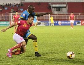 Sài Gòn FC và Khánh Hoà chia điểm trong trận cầu nhiều thẻ phạt