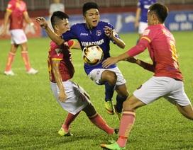 Hoà Than Quảng Ninh, Sài Gòn FC mất cơ hội lên ngôi đầu bảng V-League