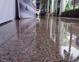 Nhà ga sân bay Đà Nẵng bị dột nước