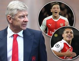 Arsenal tính bán cả Mesut Ozil lẫn Alexis Sanchez