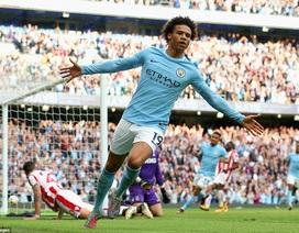 Man City 7-2 Stoke: Bữa tiệc bàn thắng