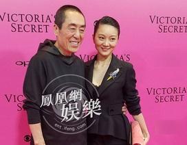 Đạo diễn Trương Nghệ Mưu đưa vợ đi xem show Victoria's Secret