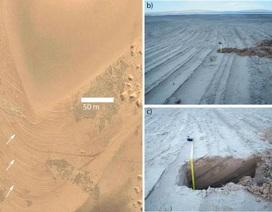 Thung lũng trên sao Hỏa đã ngập nước cách đây không lâu