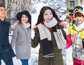 Sao Việt chu du thế giới nhân dịp năm mới