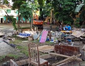 Yên Bái: Tan tác dọc suối Thia, huyện Trạm Tấu vẫn bị cô lập